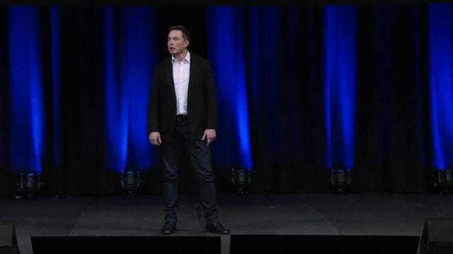Elon Musk unveils plans to put humans on Mars