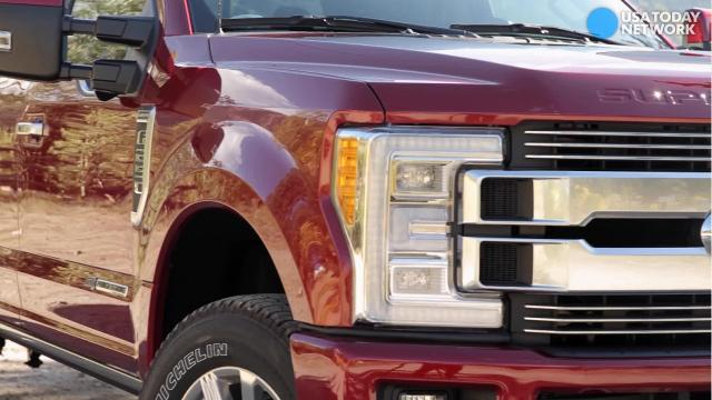 The Ford Super Duty truck with a super price tag