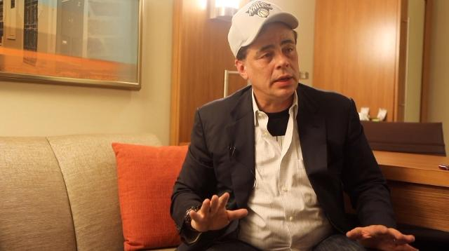 Watch: Actor Benicio del Toro speaks in on the aftermath of Hurricane Maria