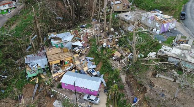 Devastated: Naranjito, Puerto Rico and many other towns