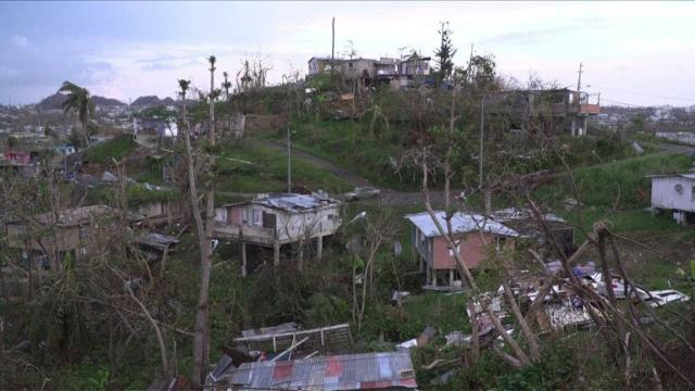 Many Puerto Ricans still without water, electricity after Maria