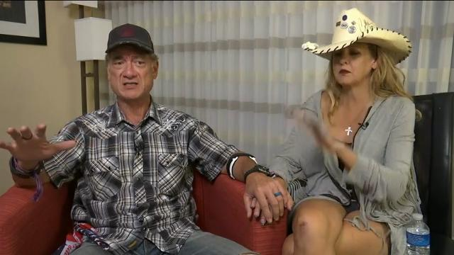 Couple describes witnessing Las Vegas shooting