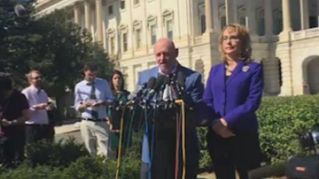 Astronaut Mark Kelly: We need gun control, not prayers