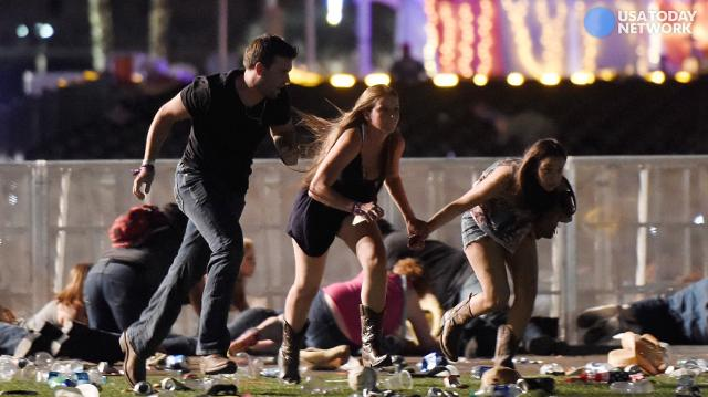 Las Vegas survivors say shooting 'sounded like fireworks'