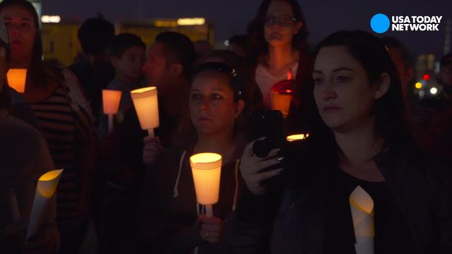 Shooting survivors want more than prayers for Las Vegas