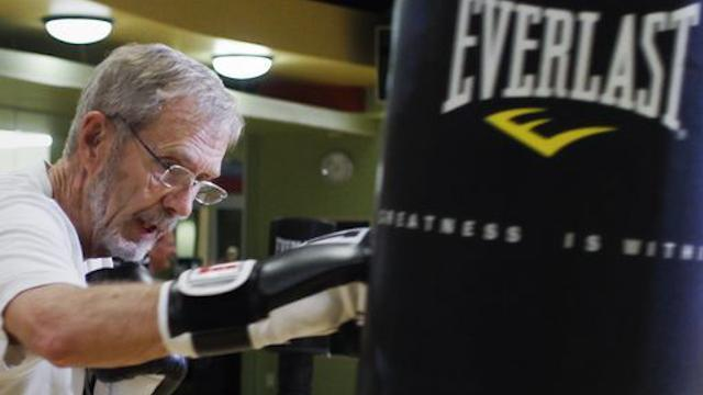 A former mayor is using boxing to fight his Parkinson's