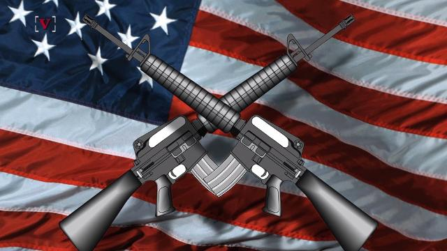 America makes up nearly half of the world's civilian firearms owners