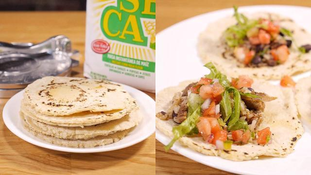 This tortilla press is the secret to making better tacos at home