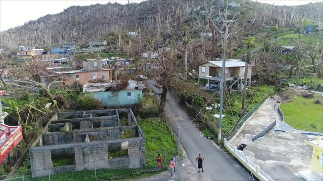 Puerto Ricans struggle in aftermath of Hurricane Maria