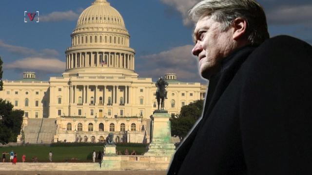 Democrats and Steve Bannon may be helping each other out