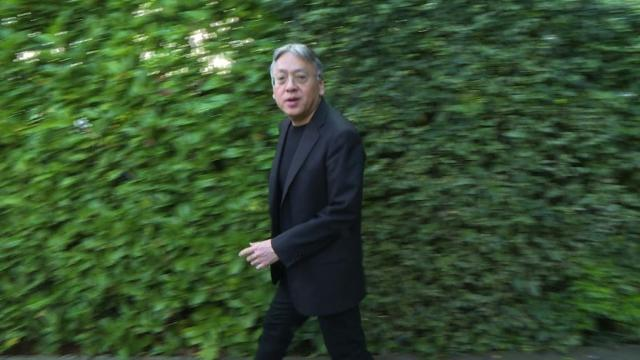 'Remains of the Day' author Ishiguro wins Nobel literature prize