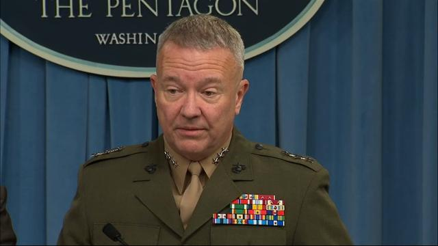 DOD confirms special ops forces deaths in Niger