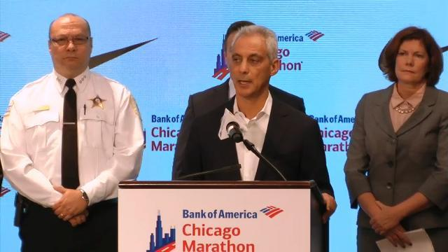Chicago preps for marathon with Vegas in mind