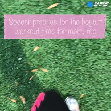 Mom Bod: No time to workout? Run during the boys' soccer practice, Mom says
