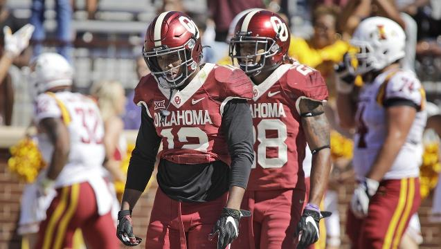 Amway Coaches Poll: Oklahoma, Michigan tumble after upsets