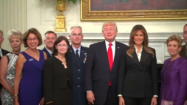 Melania Trump settling into being First Lady