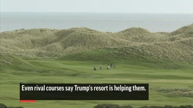 Losses Mount at Trump's Scottish Resorts