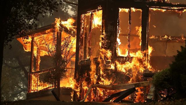 At least 10 dead as wildfires burn through Calif. wine country