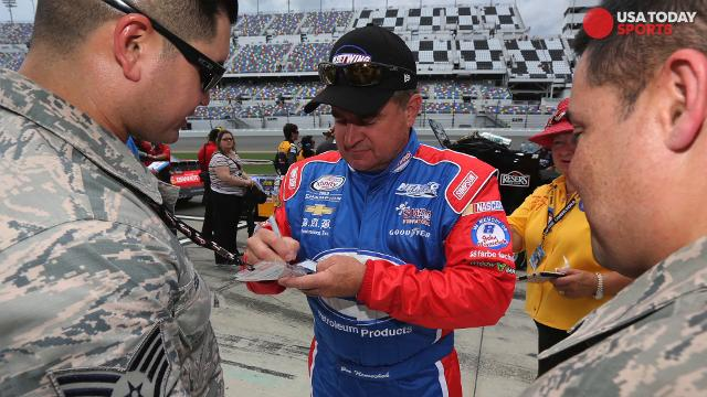 NASCAR drivers dish on the many autographs they have signed.