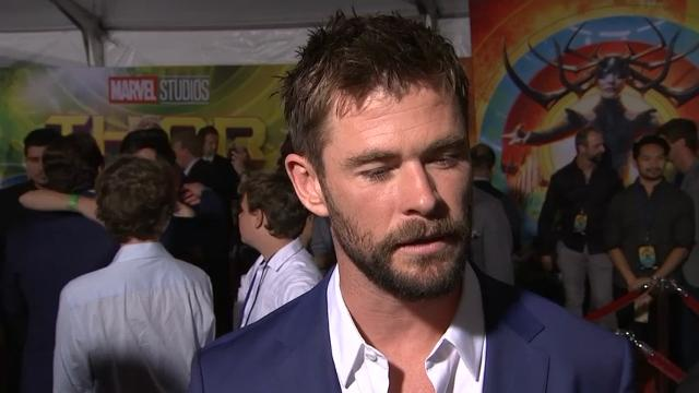 Hemsworth on Weinstein allegations: 'It's horrible, it's awful'