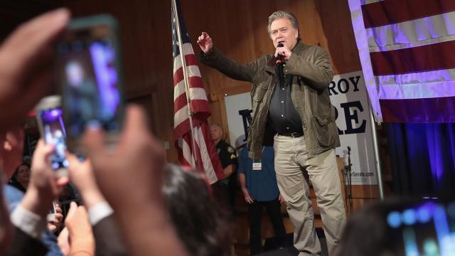 Steve Bannon has been recruiting candidates, donors For 2018 primaries