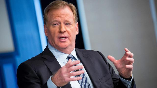 Roger Goodell is trying to toe a very careful line with anthem memo