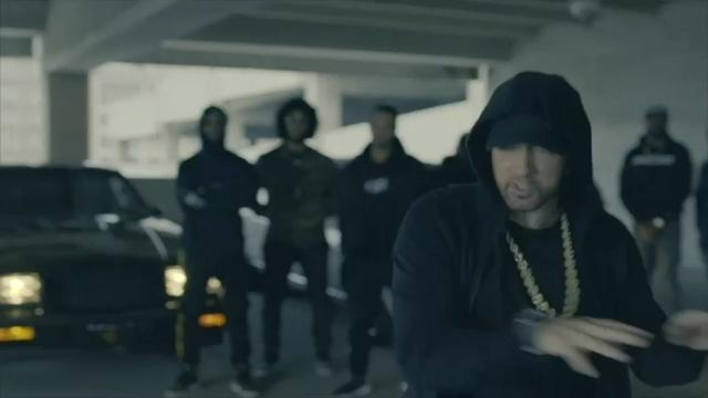 Eminem takes down Trump
