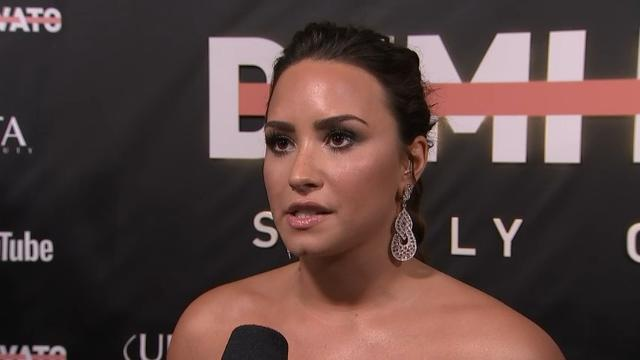 Lovato's 'struggles and triumphs' onscreen