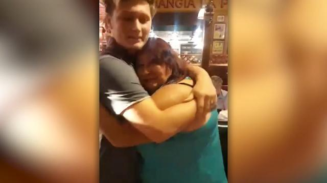 Mom meets son she gave up for adoption 18 years ago