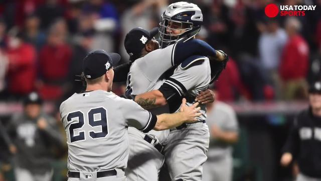 Yanks advance, Strasburg dominates in MLB playoffs