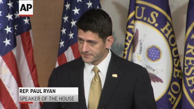 Ryan, Pelosi back Puerto Rico aid