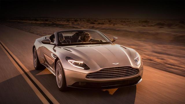 Car Shopping Check Out Aston Martin S New Convertible