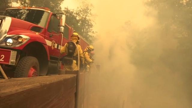 NorCal Fire Danger Continues As Crews Battle Blazes