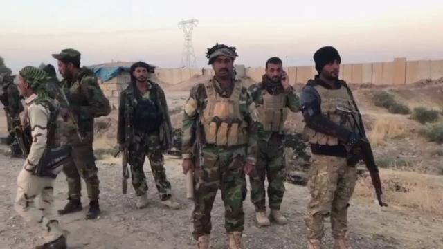 Raw: Iraqi Forces Move Toward Kurd-Held City