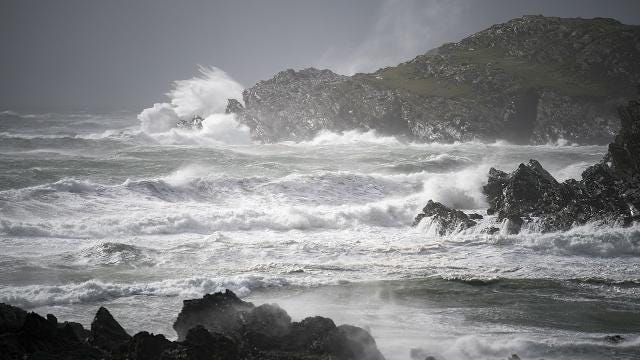 Ophelia is now a cyclone but still forecast to bring hurricane-force winds to Ireland, UK