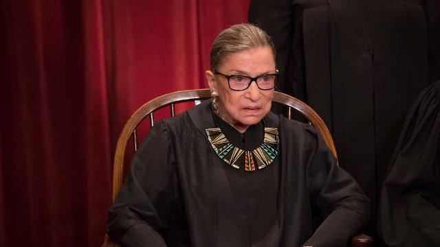 Ruth Bader Ginsburg probably works out harder than you do