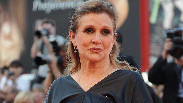 Carrie Fisher sent cow tongue to producer after sexual assault claim