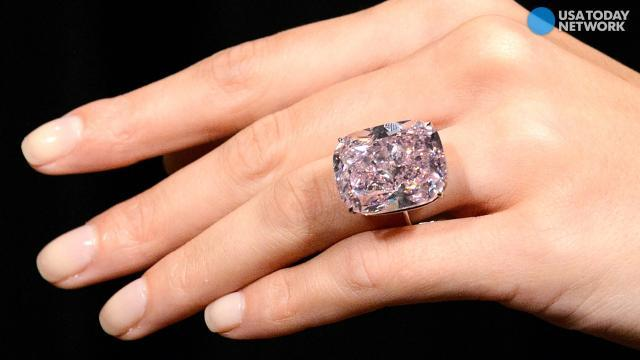 Stunning 37-carat pink diamond may fetch $30m at auction
