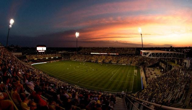 The Columbus Crew, one of MLS's original teams, is angling to move its franchise to Austin, Texas, SI.com has learned.