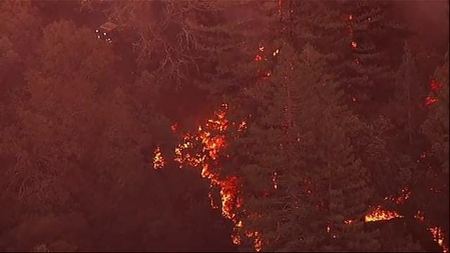 New Fires Break Out in Calif., Threatening Homes