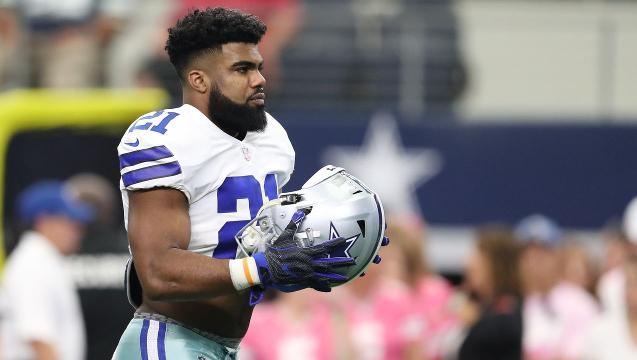 Ezekiel Elliott eligible to play after court victory