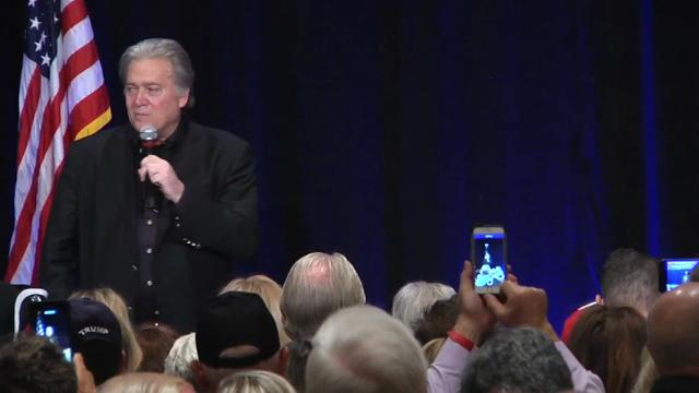 Bannon blasts McConnell for not supporting Trump