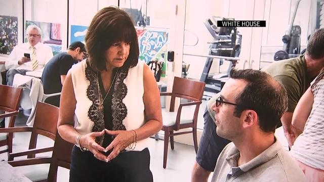 Karen Pence Promotes Art Therapy