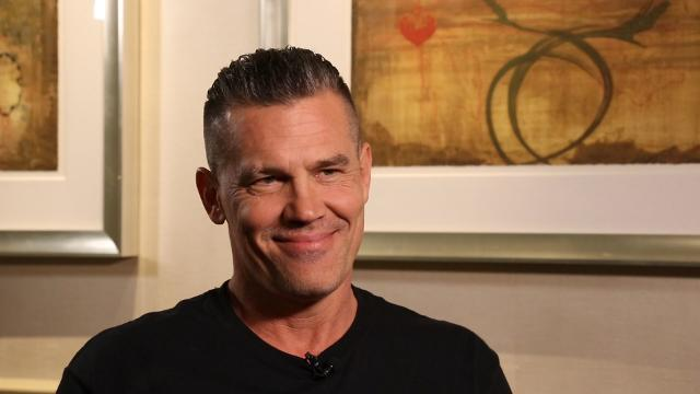 Josh Brolin talks bravery and shaving eyebrows