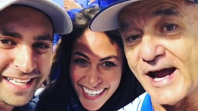 Couple announces pregnancy...starring Bill Murray
