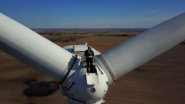 Wind turbine technician is the fastest-growing job in America