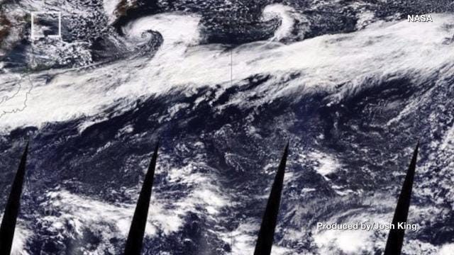 A 5000-mile long 'river in the sky' is pummeling the Pacific Northwest