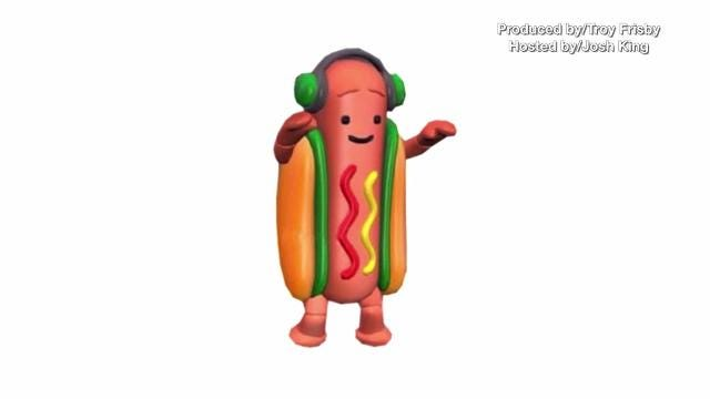 Snapchat is selling a dancing hot dog costume