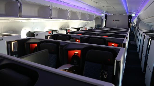 Delta ups the ante with on-board beds and privacy doors