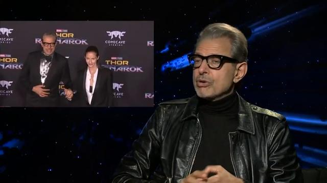 Jeff Goldblum prefers to stay in front of the camera